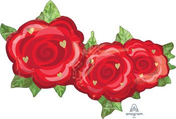"""37""""A Flower Rose Trio Pkg (5 count)"""