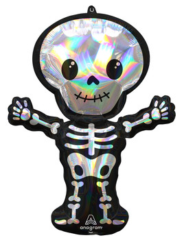 """34""""A Standing Skeleton Holographic Pkg (5 count)"""