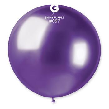 """31""""G Shiny Purple #097 Pkg (1 count)"""