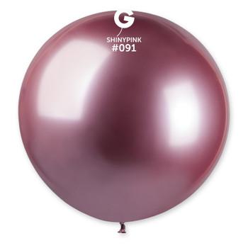 "31""G Shiny Pink #091 Pkg (1 count)"