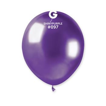 "5""G Shiny Purple #097 (50 count)"
