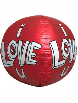"""17""""N I Love You 3D Pkg (1 count)"""