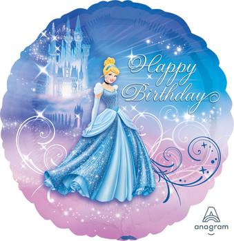 """18""""A Cinderella Happy Birthday (10 count)"""