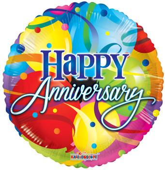 "36""K Happy Anniversary Balloons (5 count)"