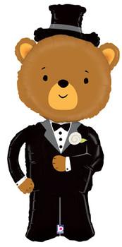 "49""B Groom Bear Pkg (1 count)"