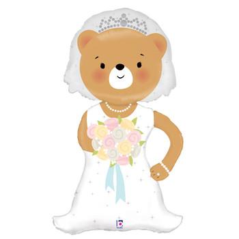 "43""B Bride Bear Pkg (1 count)"