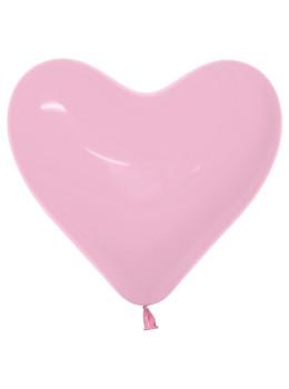 "11""B Heart Pink Bubble Gum (50 count)"