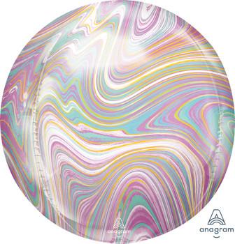 "16""A Orbz Marblez Pastel (3 count)"