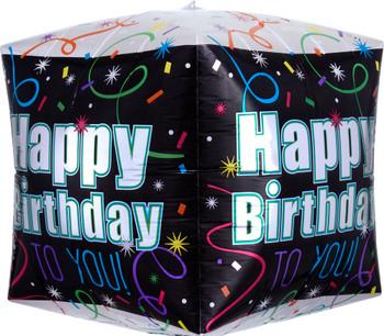 "15""A  Cubez Happy Birthday Brilliant Pkg (5 count)"