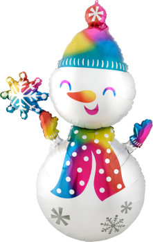 """55""""A Snowman  Satin Infused Pkg (1 count)"""