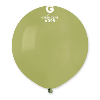 """19""""G Green Olive #098 (25 count)"""