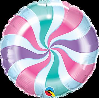 "18""Q Candy Swirl Pastel Pkg (5 count)"