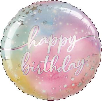 """28""""A Happy Birthday Luminous Pkg (5 count)"""