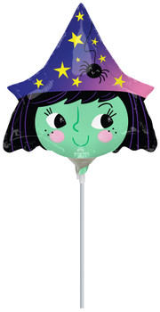 """9""""A Halloween Rainbow Witch (10 count)"""