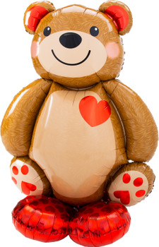 "48""A Airloonz Cuddly Teddy Bear Pkg  (1 count)"