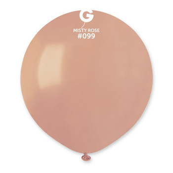 """19""""G Dusty Rose #099 (25 count)"""