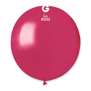 """19""""G Metallic Red #032 (25 count)"""