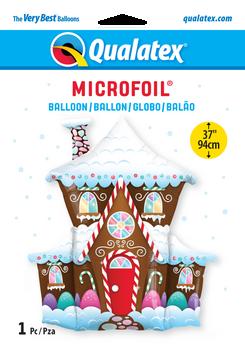"37""Q Christmas Gingerbread House Pkg (5 count)"