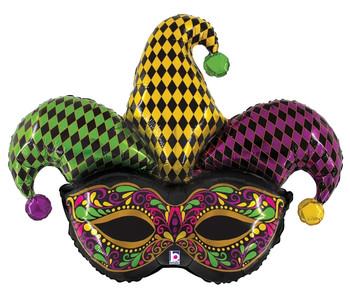 "45""B Jester Mask Pkg (5 count)"