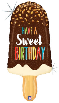 "36""B Sweet Birthday Ice Cream Bar Pkg (1 count)"
