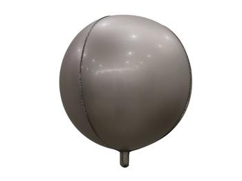 "10"" Sphere Matte Silver (10 count)"