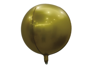 """22"""" Sphere Matte Gold (5 count)"""