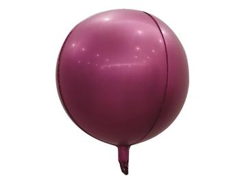 "22"" Sphere Matte Burgundy (5 count)"