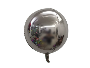 """18"""" Sphere Silver (5 count)"""