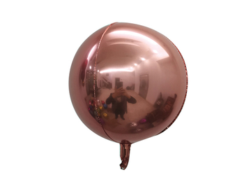 """18"""" Sphere Rose Gold (5 count)"""