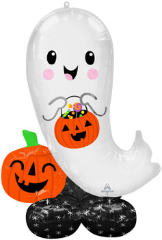 """53""""A Airloonz Halloween Ghost Pkg (1 count)"""