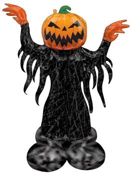 """53""""A Airloonz Halloween Pumpkin Head Pkg (1 count)"""