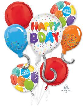 Bouquet Happy Birthday Celebration Pkg (1 count)