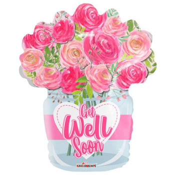 """18""""K Get Well Roses (10 count)"""