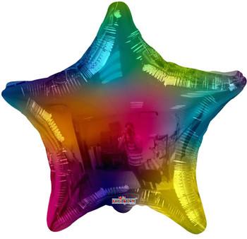"18""K Multicolor Star (10 count)"