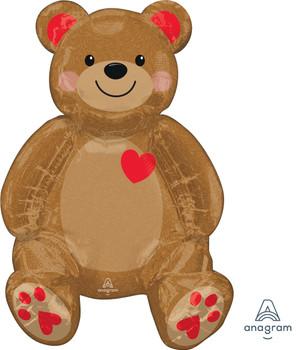 """20""""A Teddy Bear Sitting Pkg  (5 count)"""