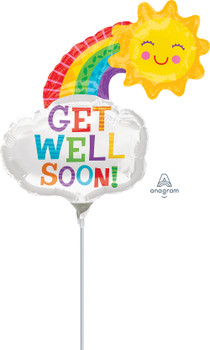 """10""""A Get Well Rainbow (10 count)"""