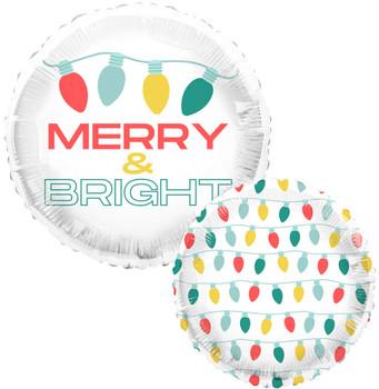 "18""T Christmas Feelin' Festive and Bright Pkg (5 count)"