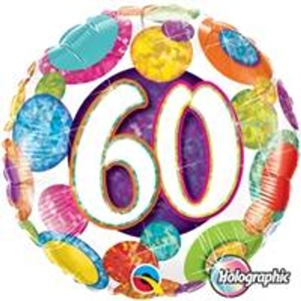 """18""""Q Big Dots & Glitz, #60"""