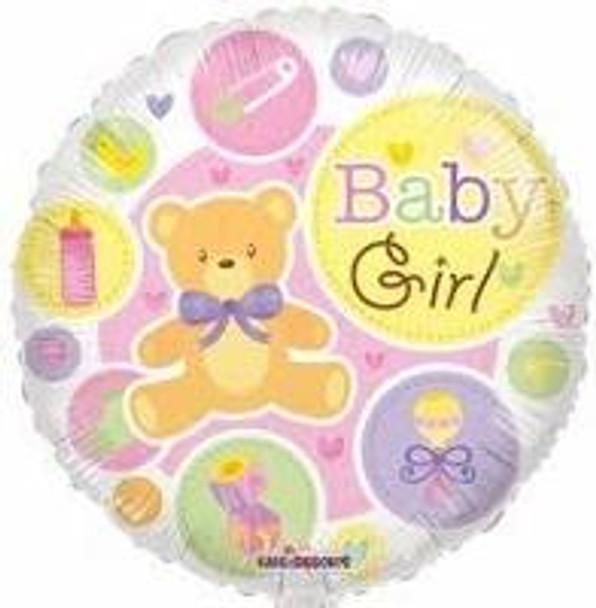 """18"""" Baby Girl, Teddy Gellibean"""