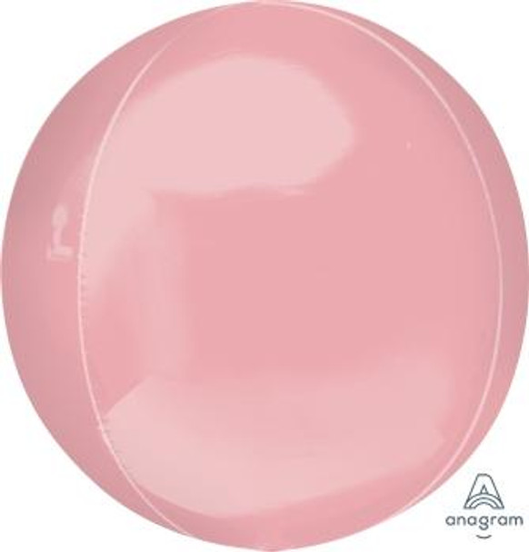 """16""""A Orbz, Pastel Pink(3 count)"""