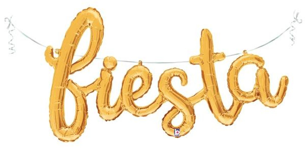 """53""""B Script Fiesta Gold (1 count)"""