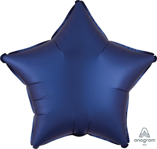 "19""A Star, Satin Luxe Navy(10 count)"