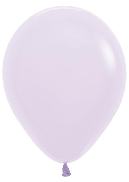 """11""""B Pastel Matte Lilac (100 count)"""