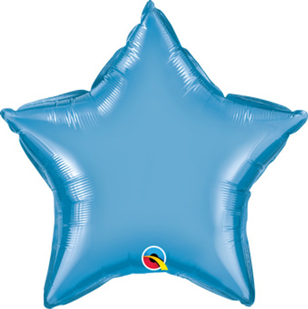 "20""Q Star Chrome Blue (10 count)"