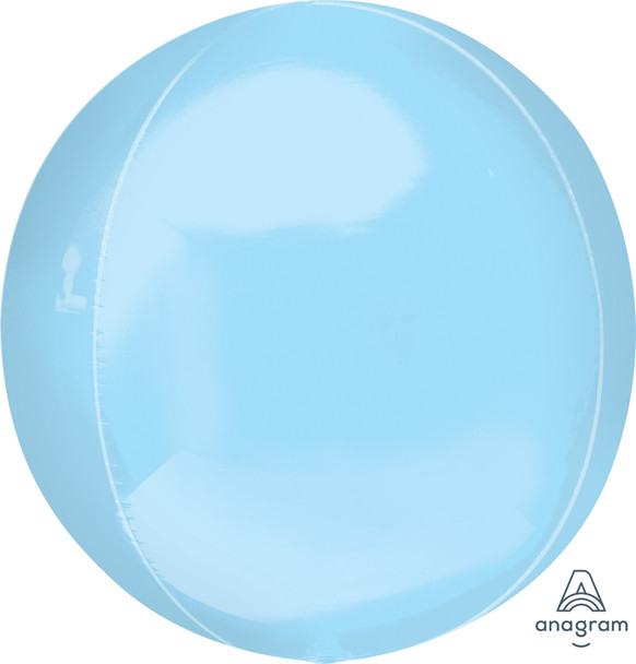 """21""""A Orbz Pastel Blue Jumbo(3 count)"""