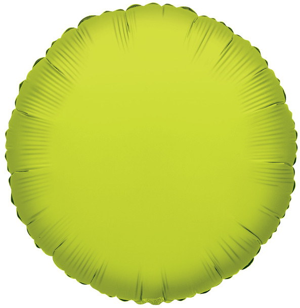"""4""""K Round, Lime Green(10 count)"""