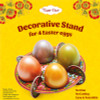 Decorative Paper Stand for 4 Easter Eggs