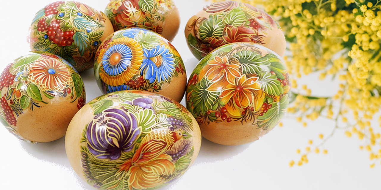 The easiest way to decorate eggs for Easter celebrations