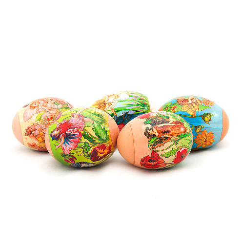 Magic Flowers, set of 5 Easter Egg Shrinking Wraps