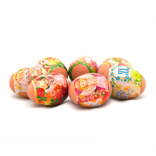 Little Angels, set of 7 Easter Egg Shrinking Wraps